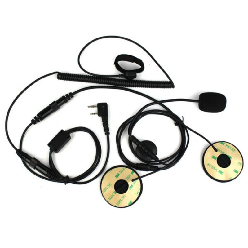 Locomotive Motorcycle Bicycle Helmet Earphone  For Active Walkie-talkie Parts  Headset Microphone AntenaAccessories