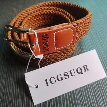 Colorful Elastic Polyester Belt for Boys 1