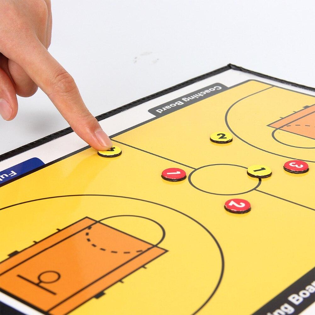 placa treinamento coaching kit 24 ímãs para o desenho tático observando