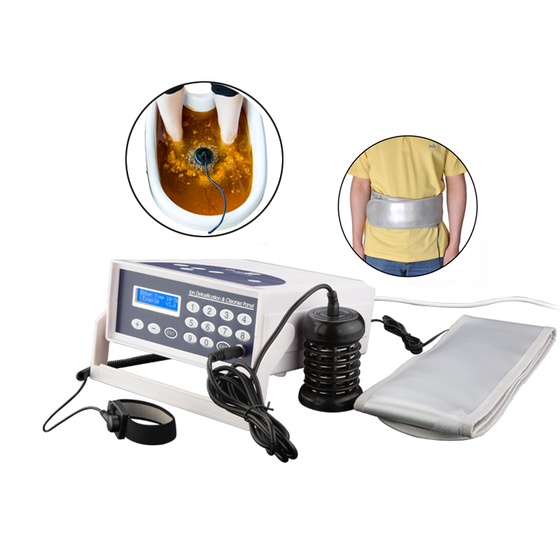 Hk 803 Ionic Ion Detox Foot Bath Spa Machine Chi Cleanse Foot Detoxification Single Machine Foot Detox Spa Aliexpress