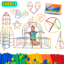 Toy Building-Block Puzzle Construction-Suction-Cup Creation DIY Plastic The Game-Toy