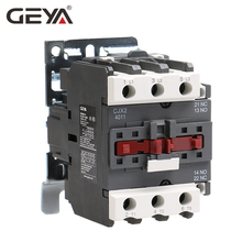 GEYA CJX2-4011 5011 6511 Industrial Magnetic Contactor 3 Phase40A 50A 65A Din Rail Telemecanique AC 220V or 380V