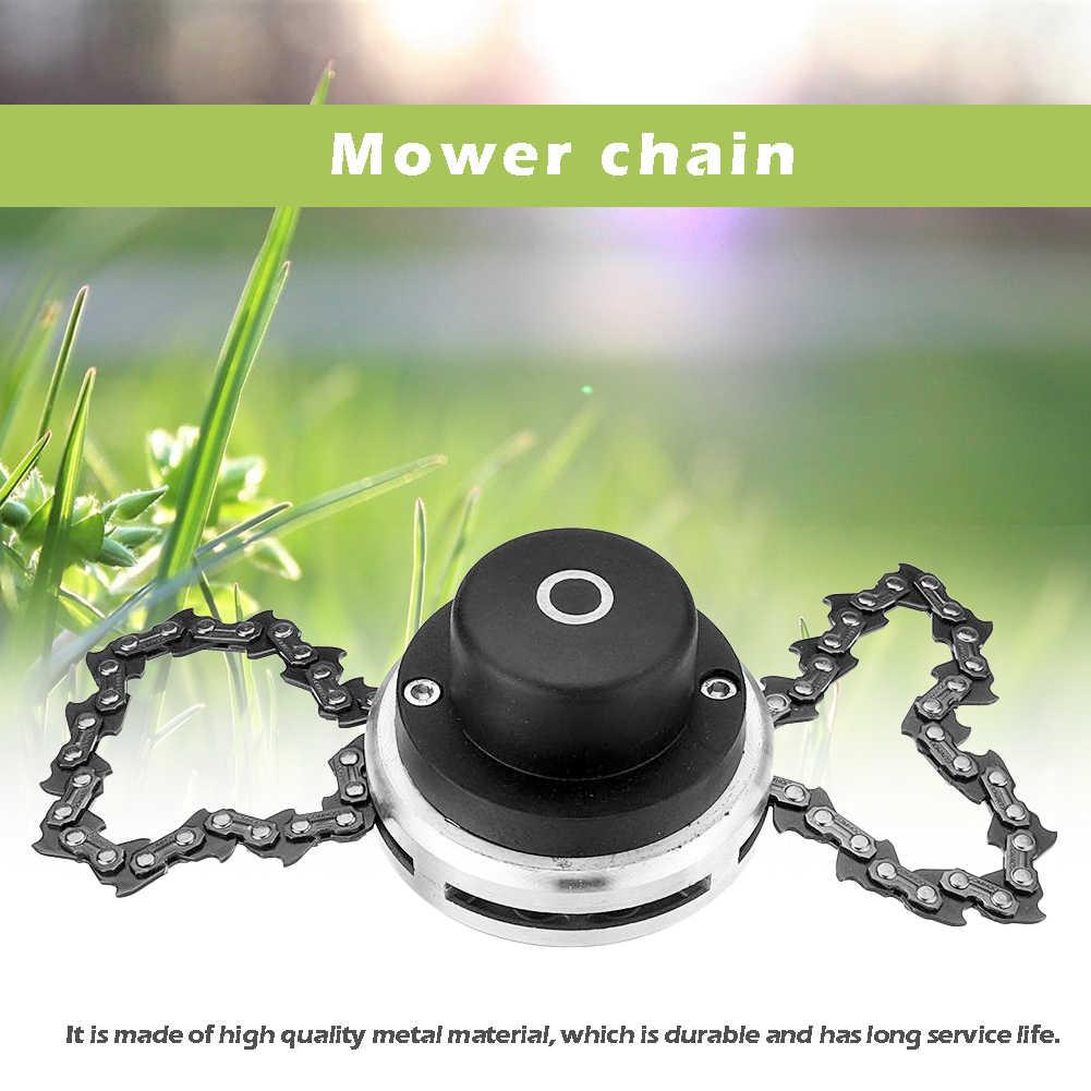 65Mn Coil Chain Saw Cutter Taman Rumput Pemangkas Kepala untuk Mesin Pemotong Rumput