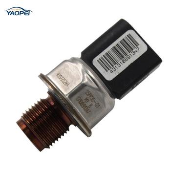 Genuine Fuel Rail Pressure Sensor For H yundai I30 1.4 CDI Chevrolet Cruze J300 2.0 CDI 55PP30-01 fuel rail pressure sensor for k ia sportage h yundai accent sorento tucson 85pp30 02