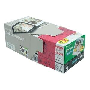 Image 3 - Fujifilm Instax Mini 30 Sheets Black+White Edge Film Photo Paper For Fujifilm Instax SQUARE SQ20 SQ10 SQ6 Instant Film Paper