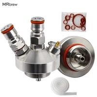 New 304 Stainless Steel Mini Keg Tap Dispenser with 12'' beer hose for Mini Craft Beer Keg Growler Homebrew Spear 3.6L/5L/10L