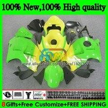 GSXR-1300 для SUZUKI Hayabusa GSXR1300 96 02 03 04 05 06 07 49BS. 107 желтый распродажа GSXR 1300 2002 2003 2004 2005 2006 2007 обтекатель