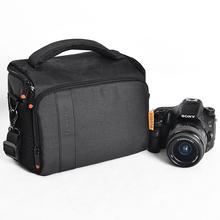 fosoto DSLR Camera Bag Waterproof Fashion Shoulder Bag Video Camera case For Canon Nikon Sony Lens Pouch Photography Photo Bag