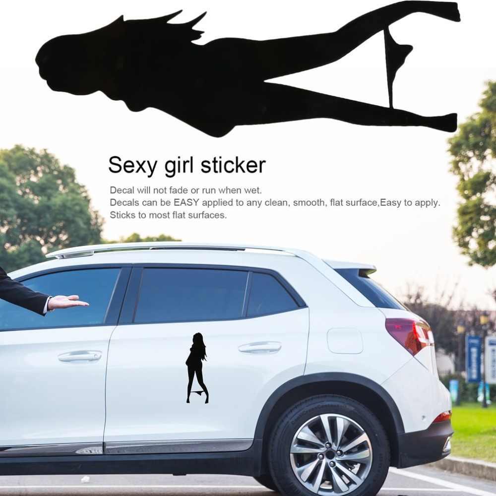 סקסי ילדה סטריפטיז מכונית אופנוע מדבקות המכסה את גוף של אופנה ויניל מדבקות רכב סטיילינג אביזרי רכב