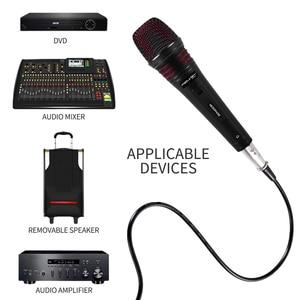 Image 5 - FELYBY ไมโครโฟนแบบไดนามิก Cardioid สายโลหะแบบใช้มือถือ MIC ปลั๊กและเล่นสำหรับคาราโอเกะการประชุม Speech Live