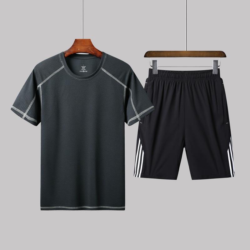 2020 Run-2020 Autumn New Style MEN'S Sport Suit Hoodie Two-Piece Set Men's Fashion