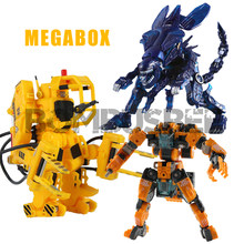 【IN STOCK】 52 juguetes alienígenas MegaBox Robots de deformación MB-12 Landbreaker MB-10 reina alienígena MB-02 Power Loader acción figura Robot(China)