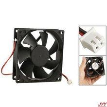 Dc 12v черный 80 мм квадратный пластиковый охлаждающий вентилятор