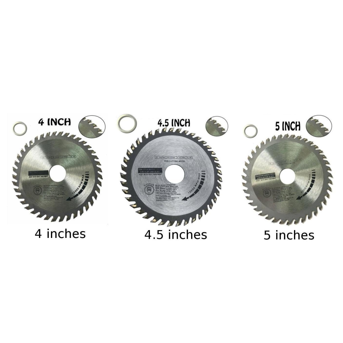 4 /4.5 /5 Inch Saw Blade Multitool Grinder Wood Cutting Disc Graff Cut Wood With Nails Saw Disc Sharp Power Tool Accessories
