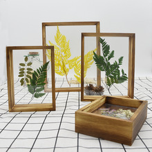 Photo-Frame Acrylic Home-Decoration Double-Sided Wooden Creative for Business-Place Set-Up