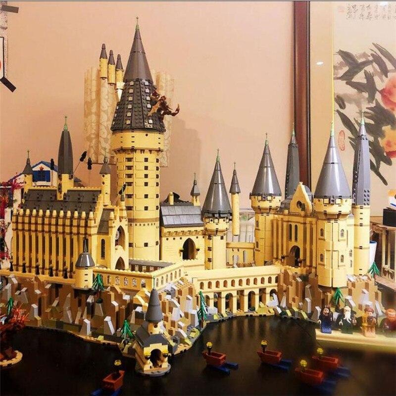 16060 Potter Movie Castle Magic Model 6742Pcs Building Block Bricks Toys Compatible LegoED 71043 Christmas Gift For Children