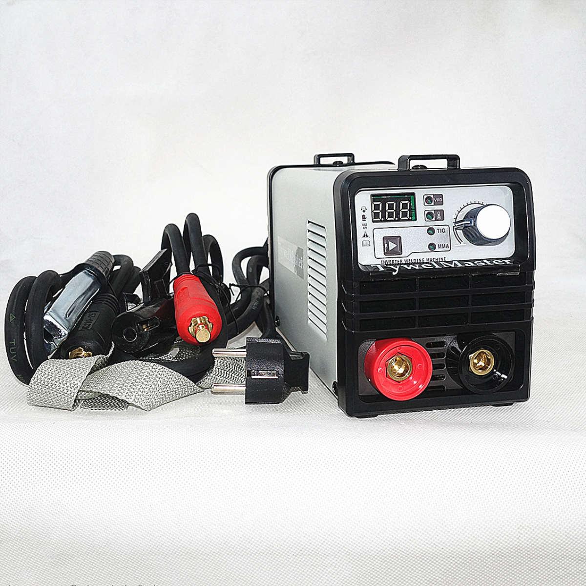 140/160A DC Inverter TIG Schweißer 160-270V VRD Stick Elektrode 1,0-3,2mm Tragbare IGBT MMA Arc Schweiß Maschine