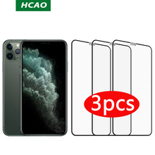 Proteção de vidro temperado para iphone 11pro protetores de tela xs max xr vidro 12 protetor de tela de vidro no iphone 11 vidro de tela