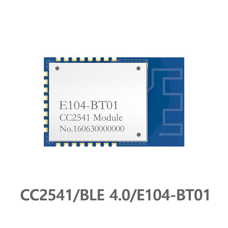 E104-BT01 CC2541 SMD Bluetooth Module 2.4GHz Ble 4.0 ibeacon rf Transmitter Receiver IOT SPI 2.4 ghz Wireless Transceiver Module image