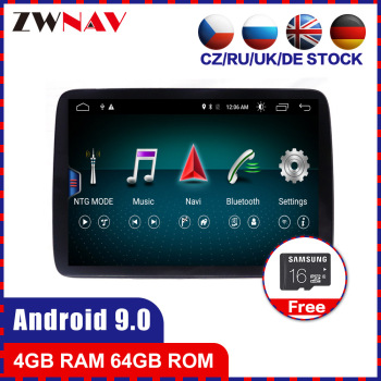 touch screen 4+64G Android 10.0 Car multimedia Player for Mercedes Benz GLE 2016 2017 2018 gps navi Audio Radio stereo head unit image