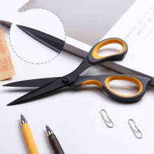 Scissors Craft-Supplies Office School Blade for Home Sewing-Fabric Shears Comfort-Grip-Handles