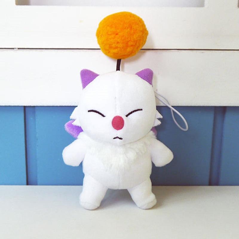 12cm Anime Final Fantasy FF15 Moogle Mogli Plush Dolls Cartoon Cosplay Plush Toy Stuffed Doll Gift Collection Girls Kids Gift
