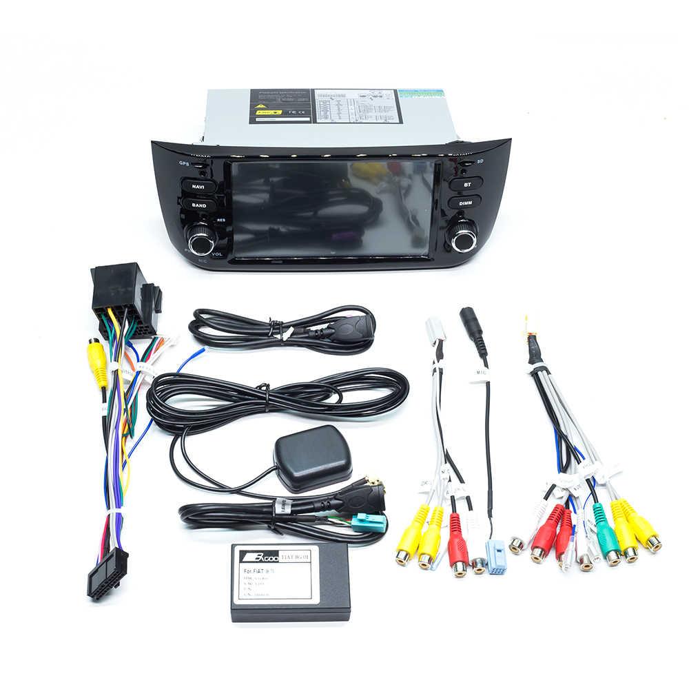 ZLTOOPAI أندرويد 10.0 لشركة فيات لينيا بونتو EVO 2012 2013 2014 2015 راديو تلقائي ستيريو رئيس وحدة الملاحة لتحديد المواقع مشغل وسائط متعددة