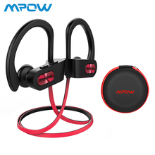 Mpow Flame Bluetooth Headphones IPX7 Waterproof In-Ear Wireless Earbuds HiFi Stereo Sport Earphones With Mic Carrying Case original mpow flame bluetooth headphones hifi stereo wireless earbuds waterproof sport earphones with mic portable carrying case