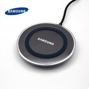 Image 4 - Samsung Galaxy S6 Qi Wireless Charger 5V/2Aชาร์จอะแดปเตอร์สำหรับS7 Edge S10e S10 S9 S8 Plusหมายเหตุ5 8 9 Iphone 8 Plus X XS X Mi9