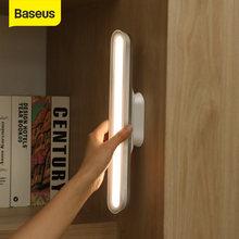Baseus asılı manyetik LED masa lambası şarj edilebilir kademesiz karartma dolap ışığı gece lambası dolap dolap masa lambası