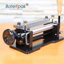 806 6 pulgadas de cuero Manual skiver,BateRpak cuero peel tools,DIY pala piel máquina, separador de cuero