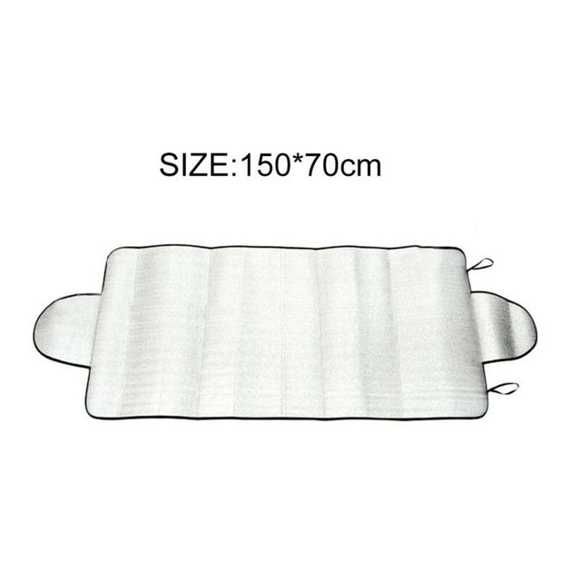 Universal Car Windshield Snow Cover Winter Ice Frost Guard Sunshade Protector Weather Proof Winter Appliances Auto Accessories 5