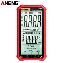 Multimetro digitale ANENG multimetro true-rms multimetro Auto-range con Amp Volt Ohm capacità continuità 620A