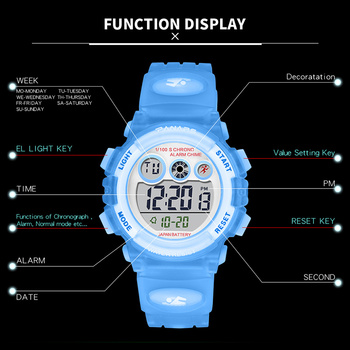 Детские цифровые часы SYNOKE 3