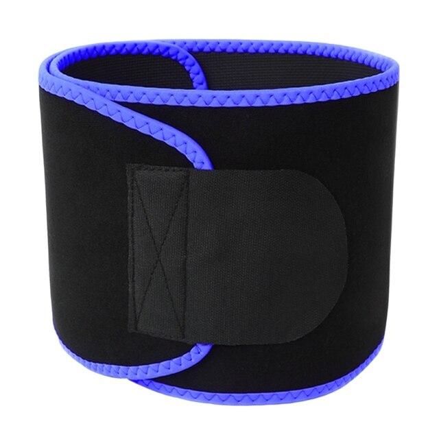 New Waist Trimmer Yoga Fitness Belt Weight Loss Sweat Band Wrap Fat Tummy Stomach Sauna Sweat Sports Belt 2020 3