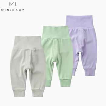 2020 wiosenne spodnie chłopięce 100 bawełna brzuch spodnie z wysokim stanem 7 kolorów dziewczynek dół noworodka ubrania spodnie dla niemowląt bielizna tanie i dobre opinie OrangeMom CN (pochodzenie) Unisex W wieku 0-6m 7-12m 13-24m Stałe baby Luźne Pełnej długości COTTON Na co dzień Pasuje prawda na wymiar weź swój normalny rozmiar