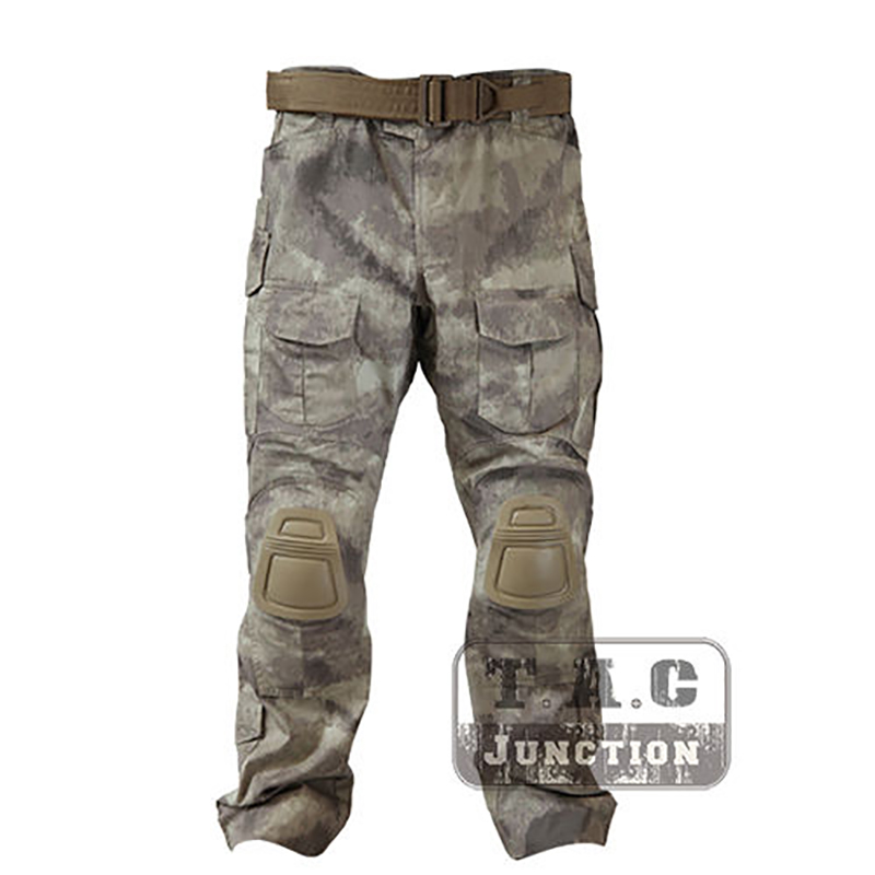 Emerson Tactical <font><b>G3</b></font> <font><b>Combat</b></font> <font><b>Pant</b></font> With Knee Pads Emersongear CP Style Battlefield Trousers Assault Airsoft Military BDU Uniform image