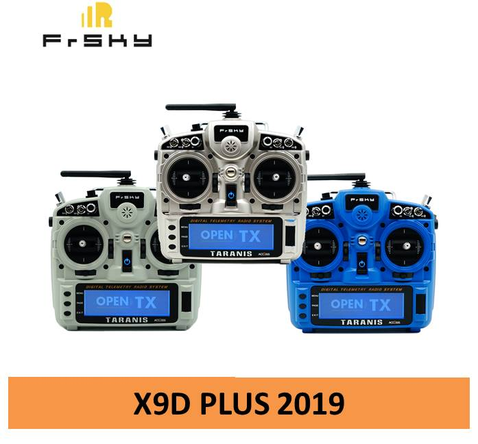 Frsky Taranis X9D Plus 2019 Transmitter 2.4GHz Remote Controller For RC FPV Multirotor Racing Drone
