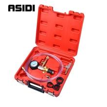 Sistema de refrigeración por vacío, Kit de purga y recarga para radiador de coche automático, juego de herramientas de purga de refrigerante, medidor PT1088