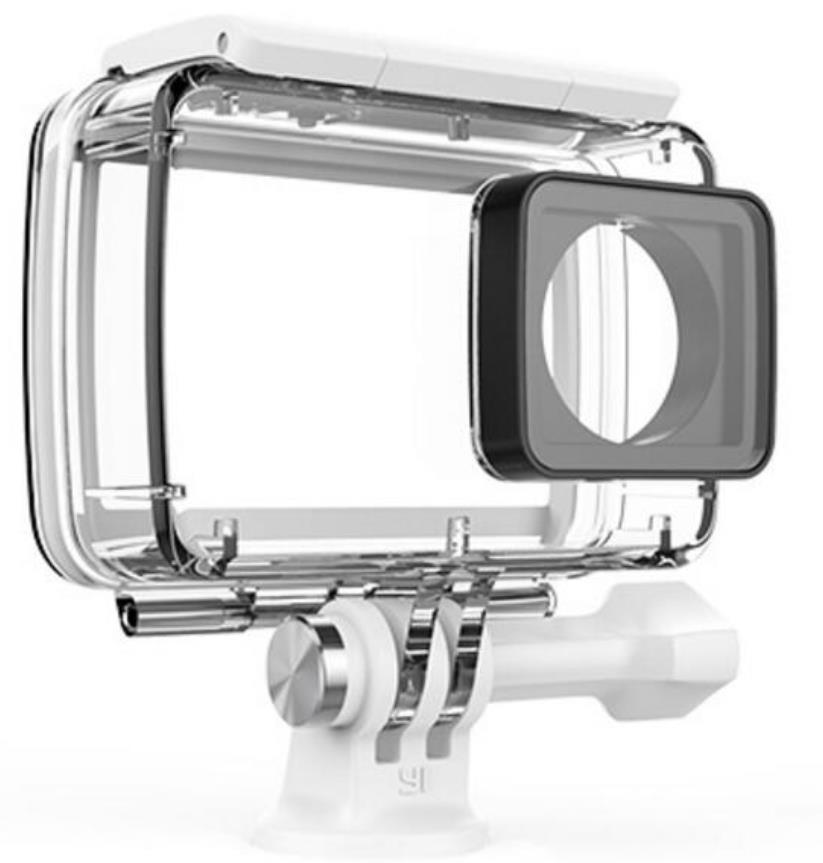 LANBEIKA For YI Diving Underwater Waterproof Housing Case Protect Frame Rubber Cover Storage Bag For YI II Xiaoyi 2 4K Camera
