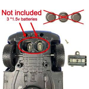 Image 4 - 1:32 救急車パトカーモデル合金ダイキャストメタルプルバック音光の子供のおもちゃ車消防車車モデル子供ギフト