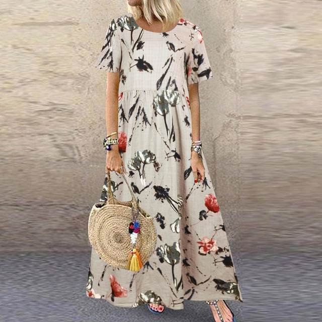 comfy swing summer dress 2