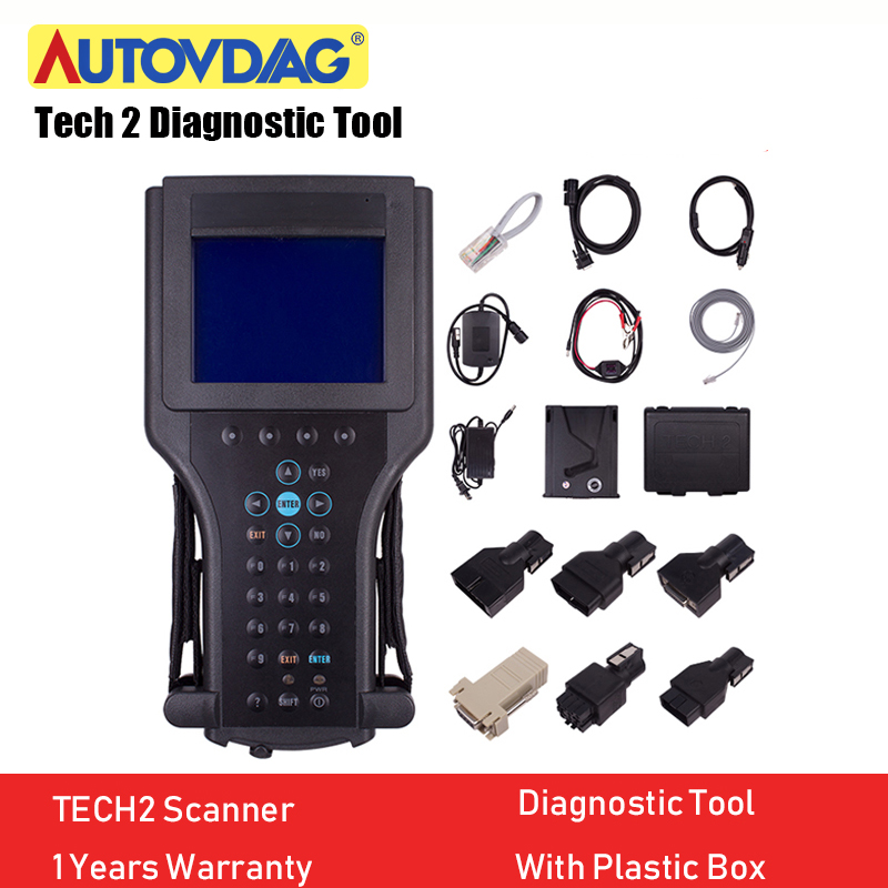 For GM Tech2 Card Car Diagnostic Tool Obd2 Scanner Black Tech 2 Scanner For GM For SAAB For OPEL For SUZUKI For ISUZU For Holden