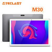 Teclast M30 10.1 Pollici 4G Android 8.0 MT6797X (X27) 1.4GHz Arredamento CPU 3GB di RAM 64GB ROM 5.0MP + 2.0MP Tipo-C di Chiamata di Telefono Tablet PC