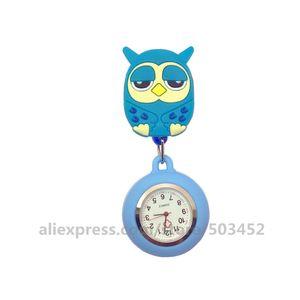 Image 5 - 100 pcs/lot 110514 Animal infirmière montre docteur Wathes belle vente en gros montres de poche dames femmes mode montre médicale