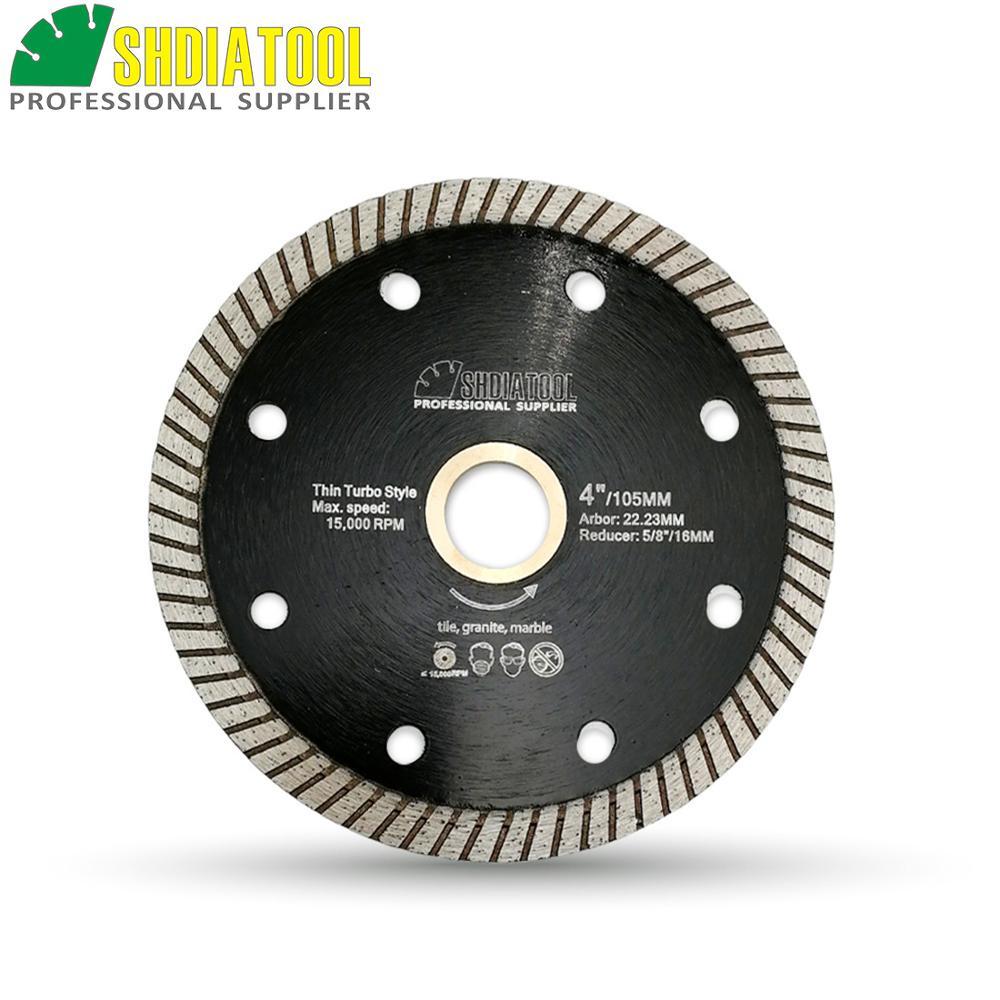shdiatool 4 4 5 5 hot pressed superthin diamond turbo saw blade ceramic tile cutting disc granite diamond circular saw blade