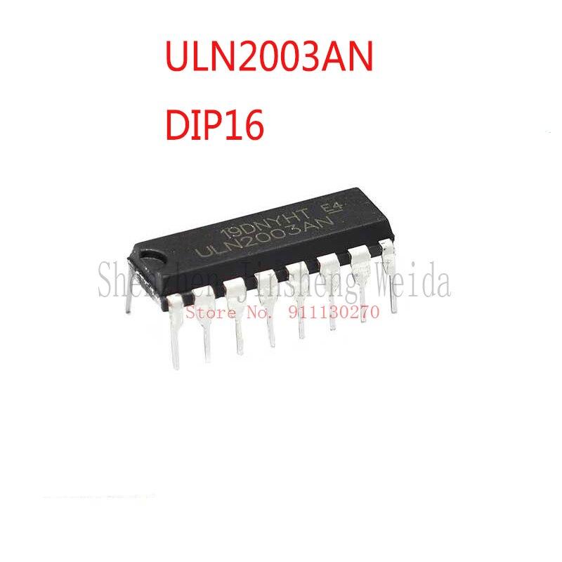 10 шт./лот ULN2003AN DIP16 2003AN DIP-16 2003 новый и оригинальный IC