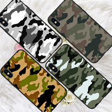 Army Camouflage For iPhone X XR XS Max 5 5S SE 6 6S 7 8 Plus Oneplus 5T Pro 6T phone Case Cover Coque Etui funda capinha capa karl lagerfeld for iphone x xr xs max 5 5s se 6 6s 7 8 plus oneplus 5t pro 6t phone case cover funda coque etui funda capa cute