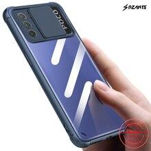 Rzants – coque rigide pour Xiaomi POCO M3, Protection dobjectif, Protection dappareil photo, mince, cristal transparent, Double étui