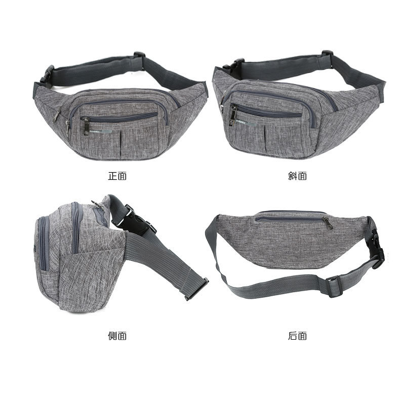 Sports Waist Pack Men's Women's Multi-functional Cash Storage Bag Korean-style 2019 New Style Casual Travel Fashion Large Capaci